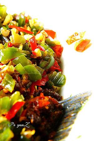 川味豆豉鱼俗话说辣是川菜的灵魂,今天自己尝试了一下豆豉...