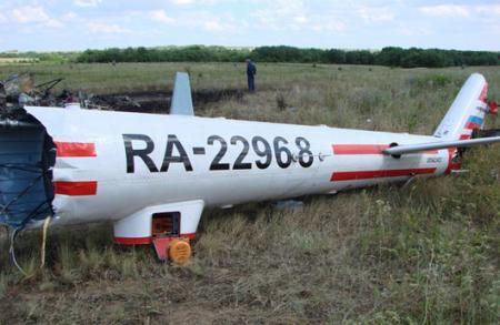 图:俄罗斯一架米-8直升机坠毁6人死亡