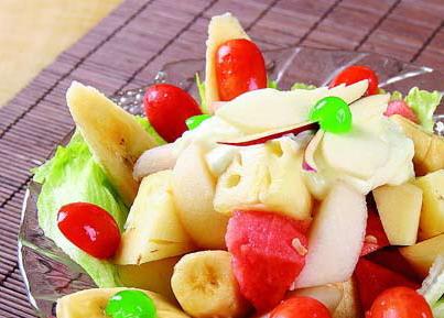 水果沙拉怎样制作过程解说以及步骤