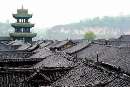 """阆中古城入选""""中国最美的十大古城"""""""