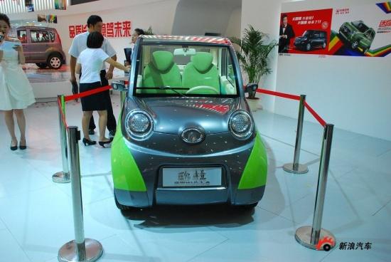 第12届成都国际车展 长城欧拉高清图片
