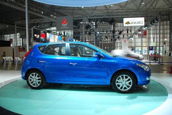 第12届成都国际车展 北京现代i30