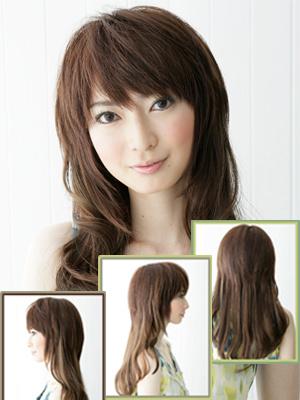 瀑布发型扎法图解步骤