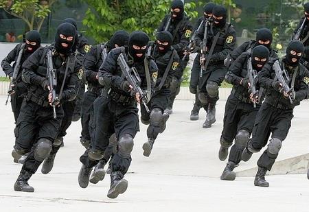 武警四川省总队特种作战分队图片