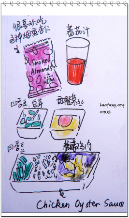 漫画连载 09美国行手绘旅行日记