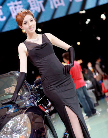 传说中国内最漂亮的8位车模