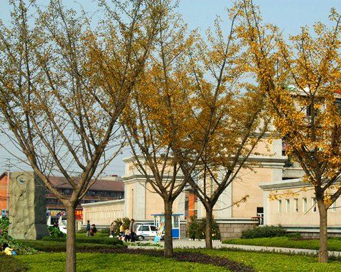 成都理工大学校园风光图片