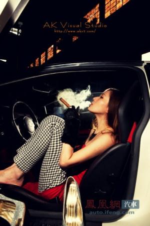 车模与豪车的迷幻大片