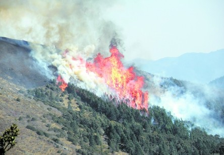 烧了近10天 凉山木里森林火灾被扑灭
