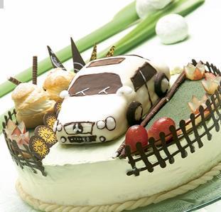 汽车蛋糕-讨人喜欢的鲜奶泡芙 成都美女最爱的香滑甜点