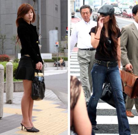 街拍日本街头时尚mm