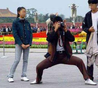 旅游拍照姿势宝典