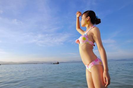沙滩美女 给你10个畅游海南的理由