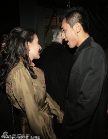 刘烨和老婆生活照