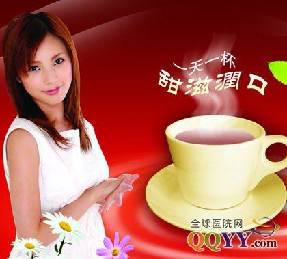 喝奶茶 造美女