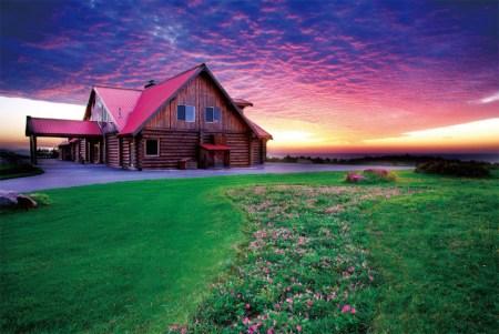 金石红云满天