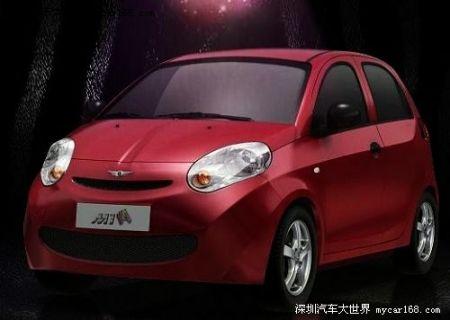 汽车整体相配,也设计成了卡通版内饰,多种卡通元素把瑞麒m1捆高清图片
