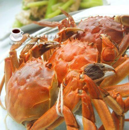 美女煮妇教您做螃蟹