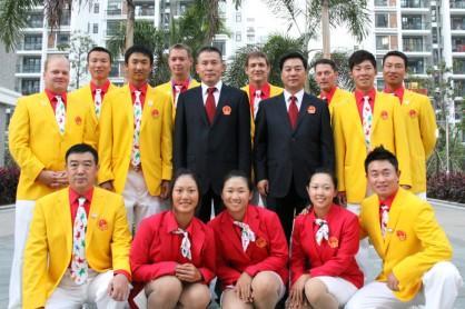 国家队盛装出战广州亚运会