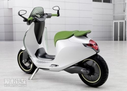 smart电动踏板摩托车