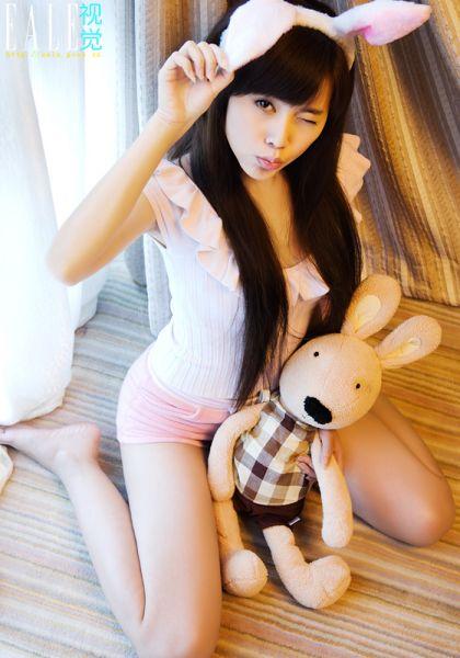 可爱美丽清纯小兔子图片