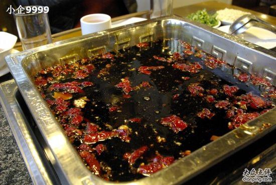 九尺赵老四鲜鹅肠火锅(图据:大众点评网)-麻辣火锅中的香脆鹅肠