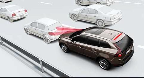 xc60具有自动刹车的功能