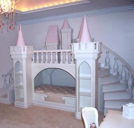 儿童家具设计的公司,现在它推出了一款为你小公主量