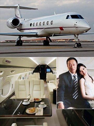 明星富豪私人飞机大比拼