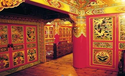 藏式房屋内部装修