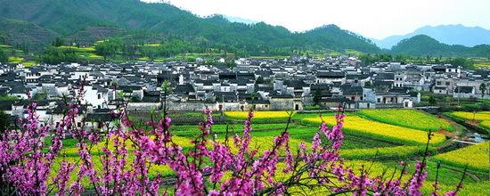 http://sc.sina.com.cn 2011年10月28日08:53 新浪旅游 田园仙境 盘点中国最美的十个村落   中国地大物博,山川秀丽,名胜古迹比比皆是,但最吸引我的却是那些带有浓浓人情味儿的美丽村落。也许是从小生长在山村的缘故,我对那些仙境般的田园村落有特别的情感和灵感。从南到北,从东 到西,这些年足迹穿行于中国如诗如画的村落:哈尼族村,西递宏村,开平碉楼,连南瑶寨,贵州侗寨, 丹巴藏寨,楠溪江古村落,婺源村落等等,要在这些村落中选中心中十个最美的村落是很困难的事情,在中国,还有很多美丽村