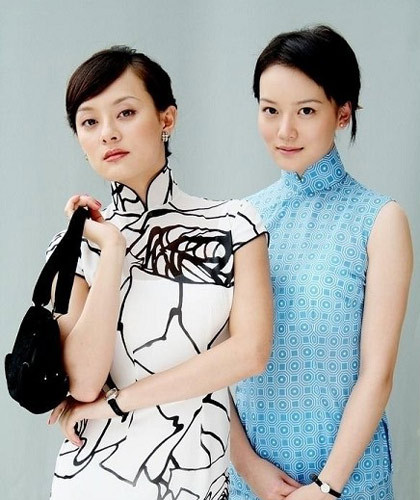 旗袍,是一种内与外和谐统一的典型民族服装,被誉为中华服饰文化的图片