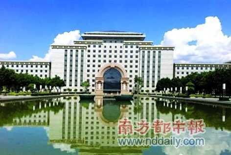 红河州政府大楼实景
