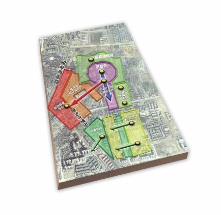 昭觉寺片区改造规划示意图。制图杨仕成