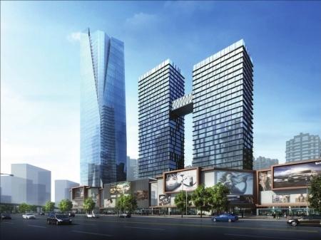 昭觉寺片区改造规划示意图。
