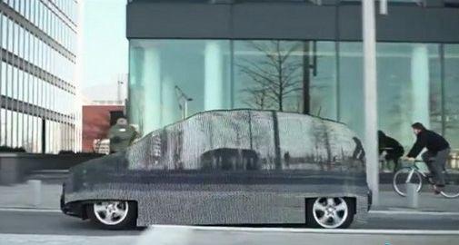 奔驰隐形汽车