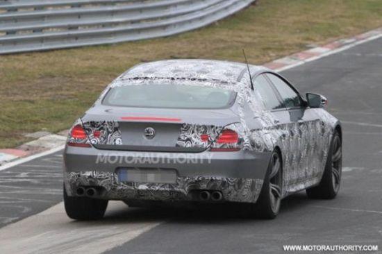 宝马全新M6 Gran Coupe谍照 今年发布