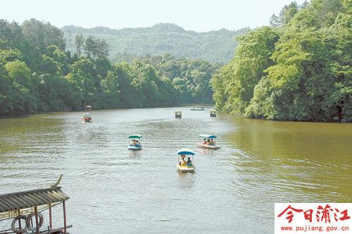 朝阳湖风景区路线