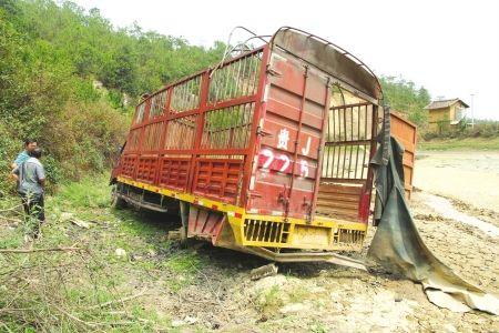 6月15日,货车在水库中已躺了9个月。