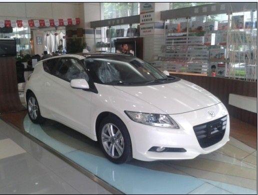 油电动力跑车CR-Z上市 三和广本接受预定