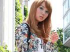 日本时尚不仅有怪咖潮人街拍秀印花衫很抢眼