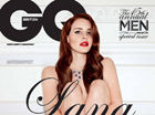 LanaDelRey在为GQ杂志拍摄性感照