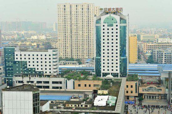 汉都大酒店即将拆除。