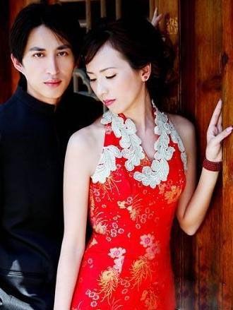 短发新娘拍婚纱照如何造型