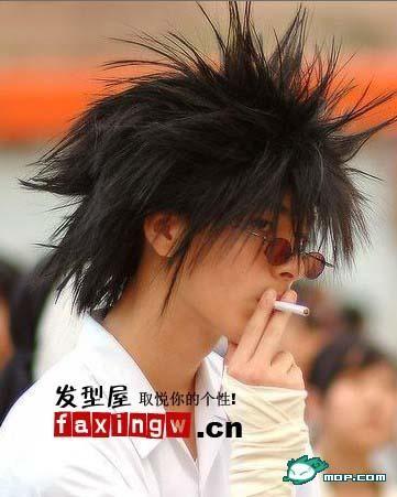 刺猬头帅哥发型图片(4)图片