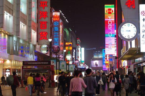 成都春熙路夜景 资料图