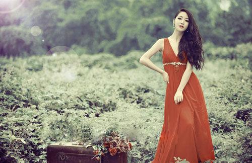 四种风格婚纱 打造流行新娘