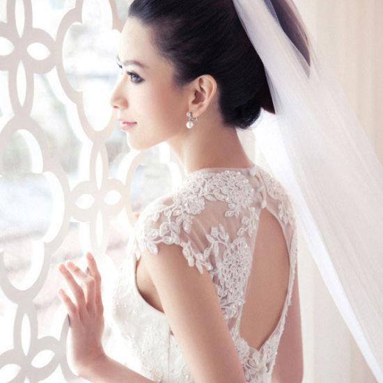 韩式婚纱 设计图 拖尾女生单个