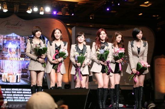韩国当红女团T-ara 资料图