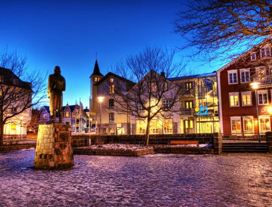 世界最北的首都冰岛雷克雅未克